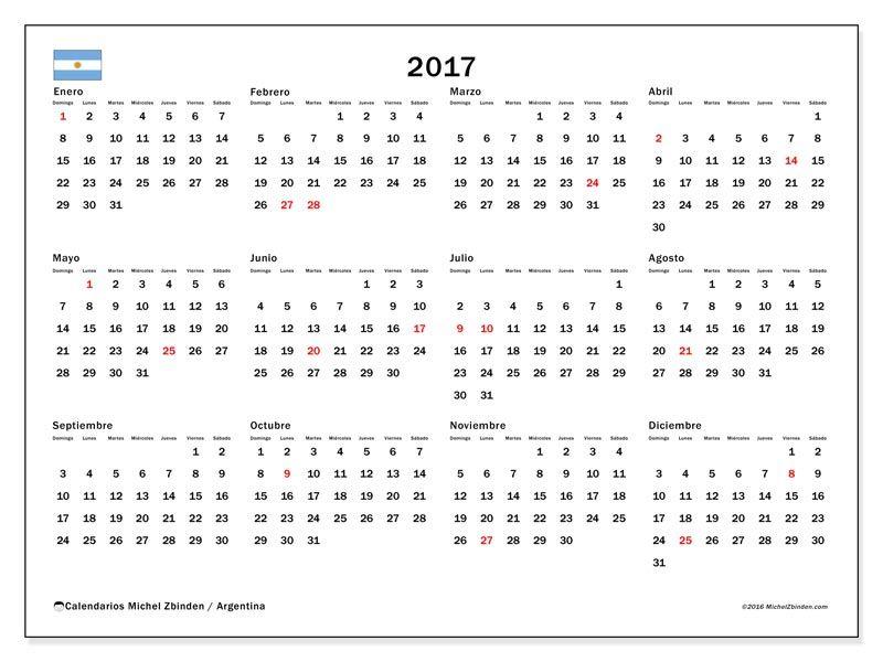 Calendario 2020 Argentina Para Imprimir Pdf.Calendarios Para Imprimir Argentina Calendario Para