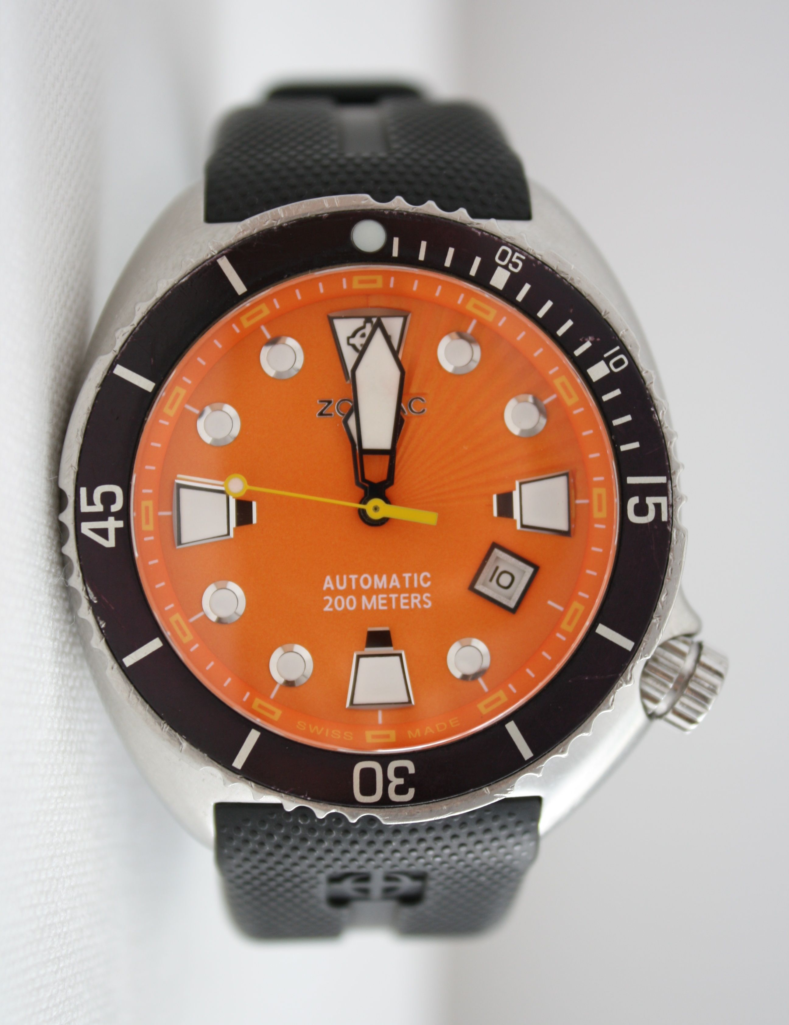 f5820ea6a619 Zodiac Oceanaire ZO8002 DIVERS Edition Automatic Swiss 45mm