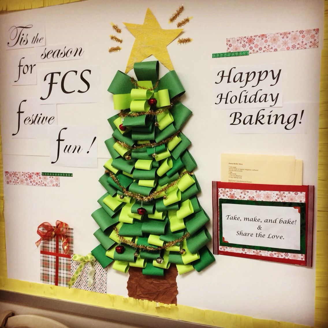 Science Facts Christmas: A Festive Family And Consumer Sciences Bulletin Board For