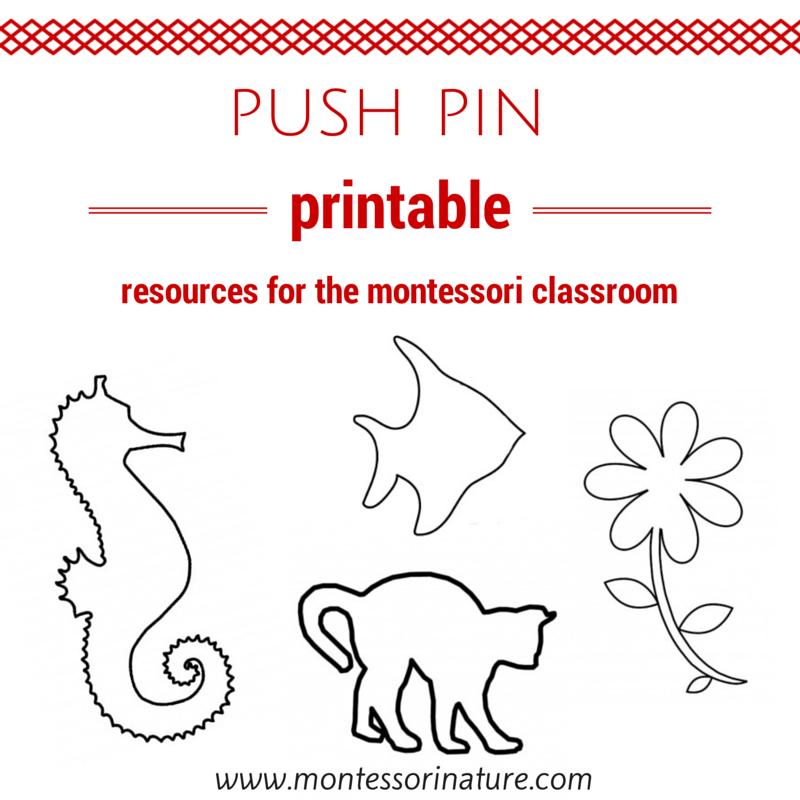 Pin Poking Activities + Free Printables | Montessori, Kids ...