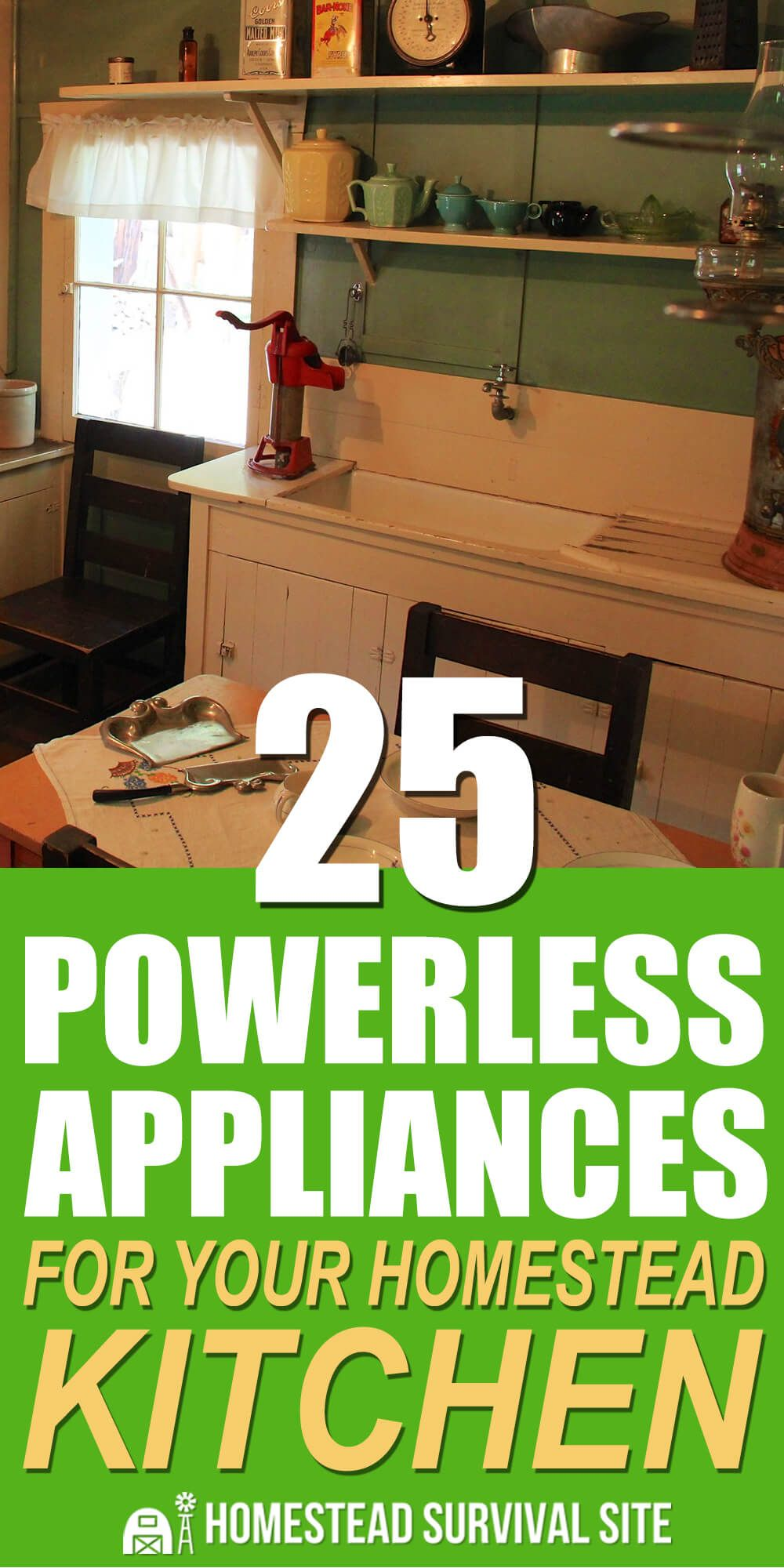 25 Powerless Appliances for Your Homestead Kitchen