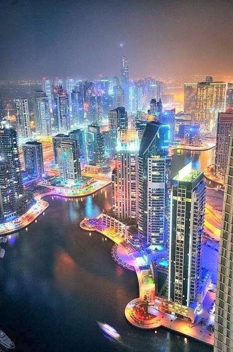 Lighting Dubai My Second Dream Place