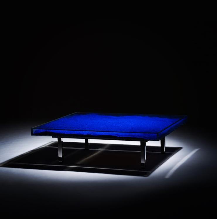 Yves Klein Table Bleue Now available | Info@guyhepner.com | #yvesklein #yveskleinblue