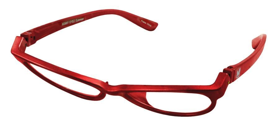 66829cdd28 Bunny Eyez Raquel Readers - Sparkle Ruby Red - Up position Rouge Rubis