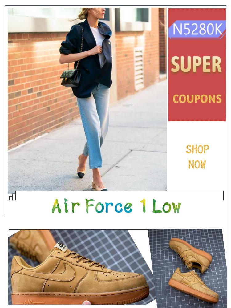 Get Super Coupons Nike Air Force 1 Low