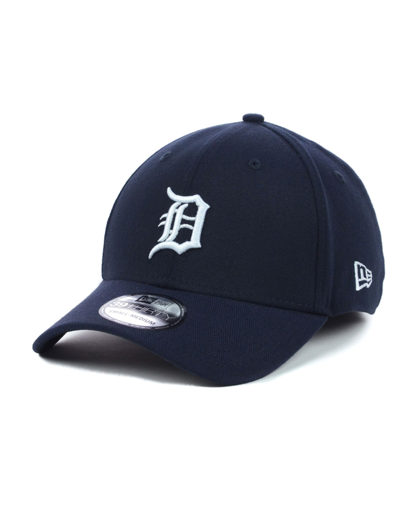 timeless design f7d7f 60c54 New Era Detroit Tigers Mlb Team Classic 39THIRTY Cap