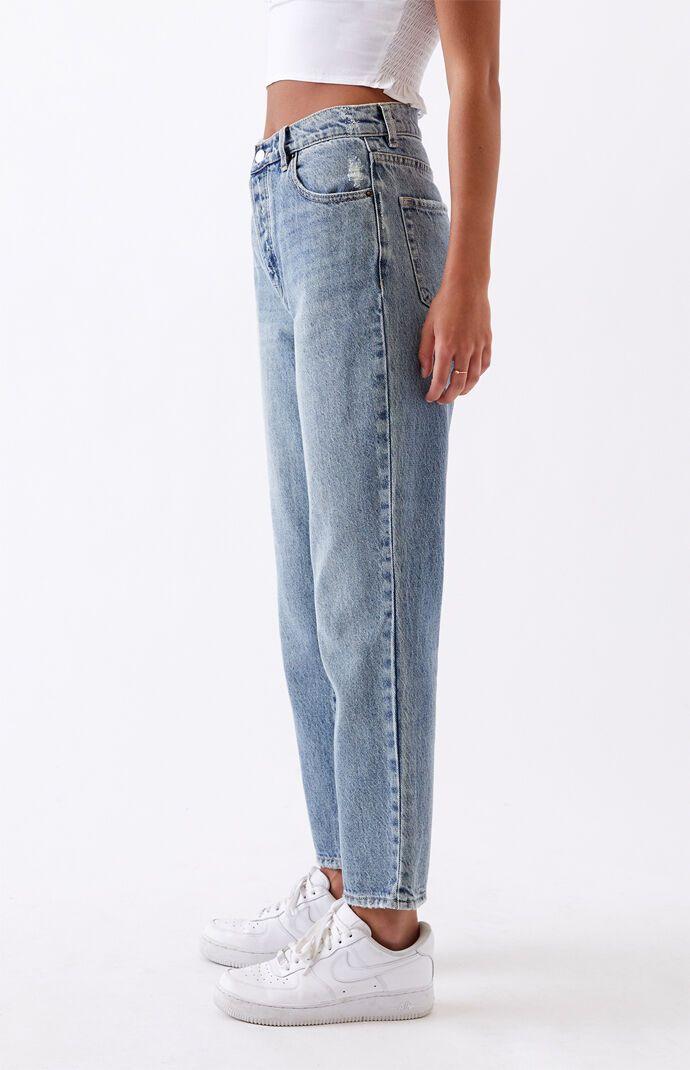 PacSun Medium High Waisted Straight Leg Jeans