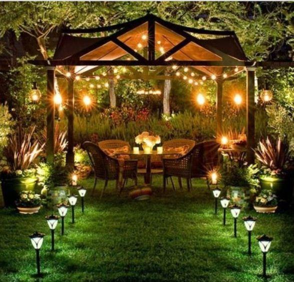 Arrange Romantic Dinner Date In My Garden Dream Backyard Backyard Backyard Canopy