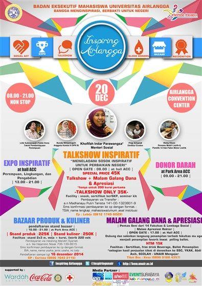 Badan Eksekutif Mahasiswa Universitas Airlangga Present Inspiring Airlangga 20 Desember 2014 At Airlangga Convention Center Universitas Mahasiswa Perbaikan
