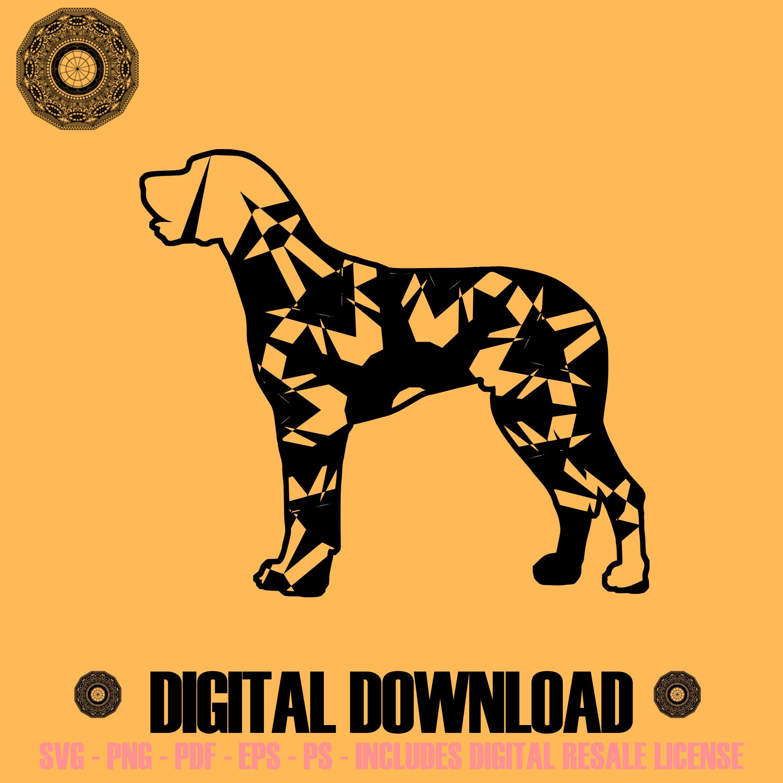 Great Dane Mandala Winter Edition Svg Digital Image Sell Download