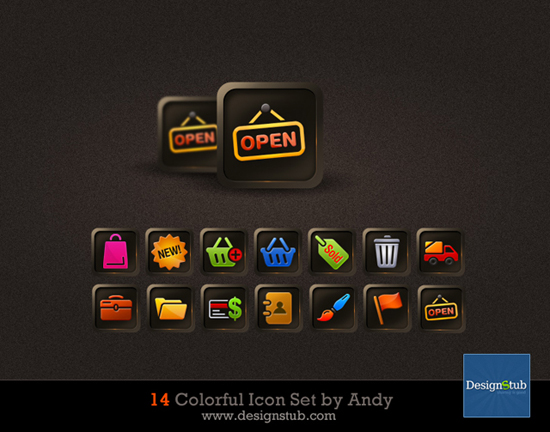 Download Adobe Web icon set 01 (file 1491)