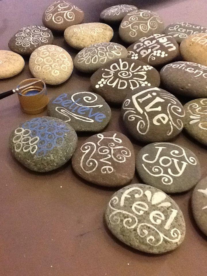 Kukuee del mixteco estar en calma kukuee to be calm - Piedras de rio pintadas ...