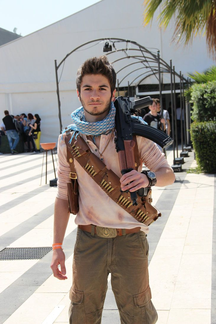 nathan drake uncharted 3 cosplay by spectre95 halloween