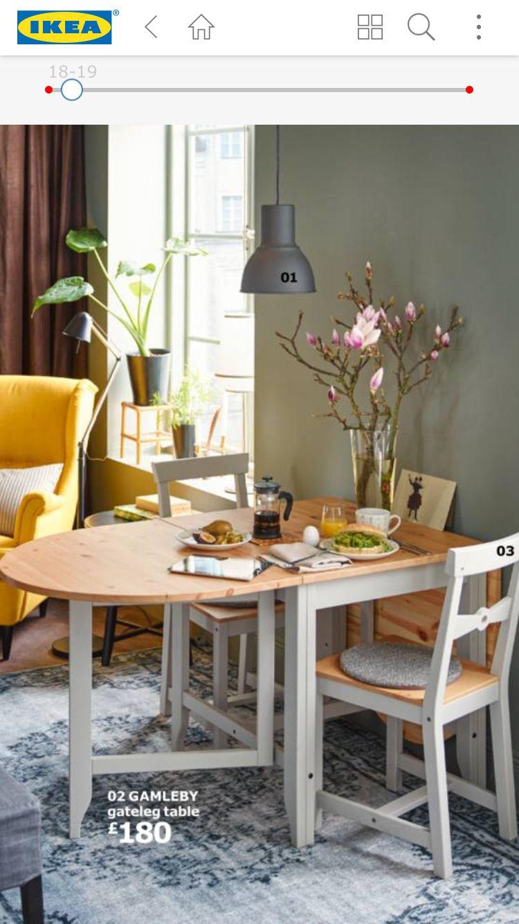 Ikea Tavoli Da Giardino Allungabili.Pin Di Lucia G Su Tiny House Tavoli Da Pranzo Piccoli