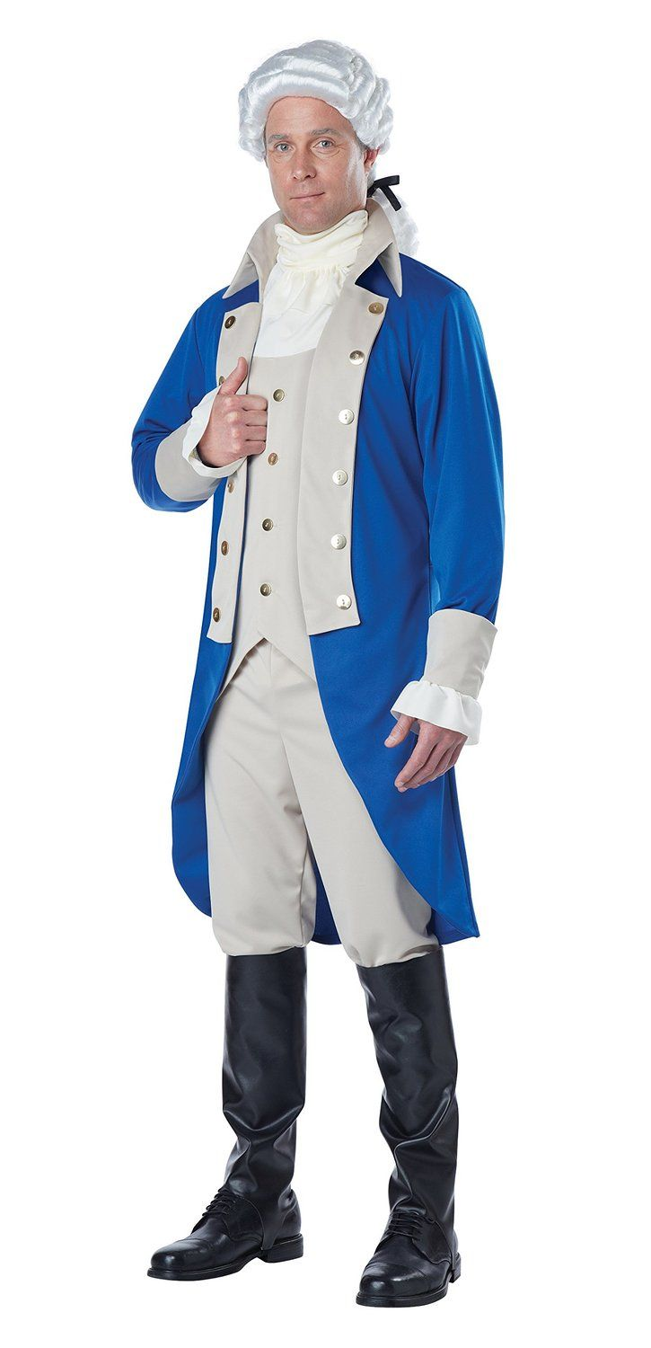 Amazon.com: Adult Alexander Hamilton/George Washington ...