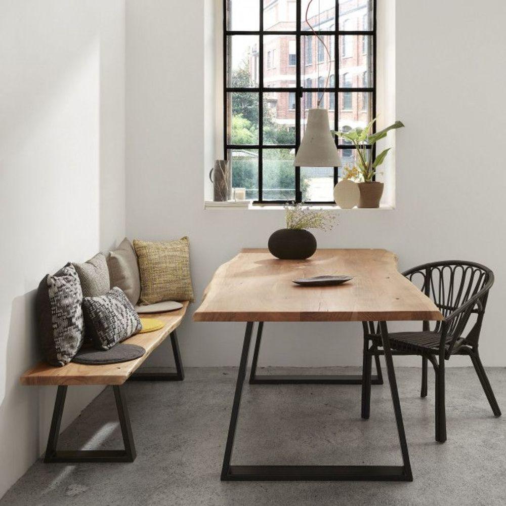 Table de ferme pour salle à manger à l'esprit campagne   Table ...