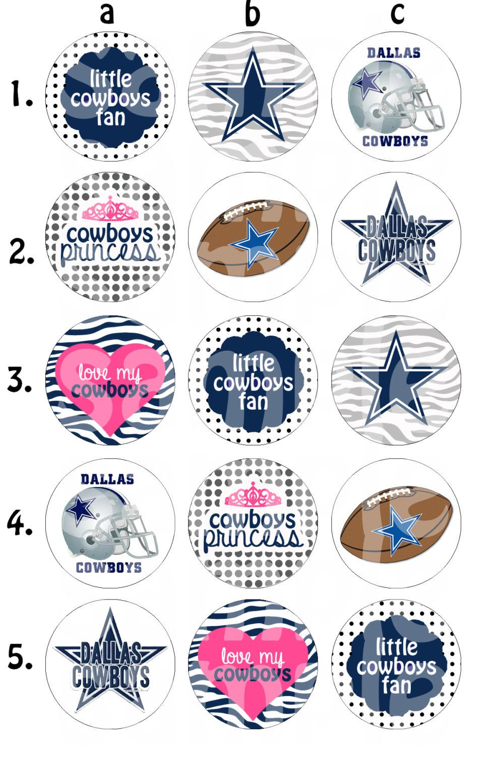 Dallas cowboys bottle cap images by hellolovelycreations for Dallas cowboys arts and crafts