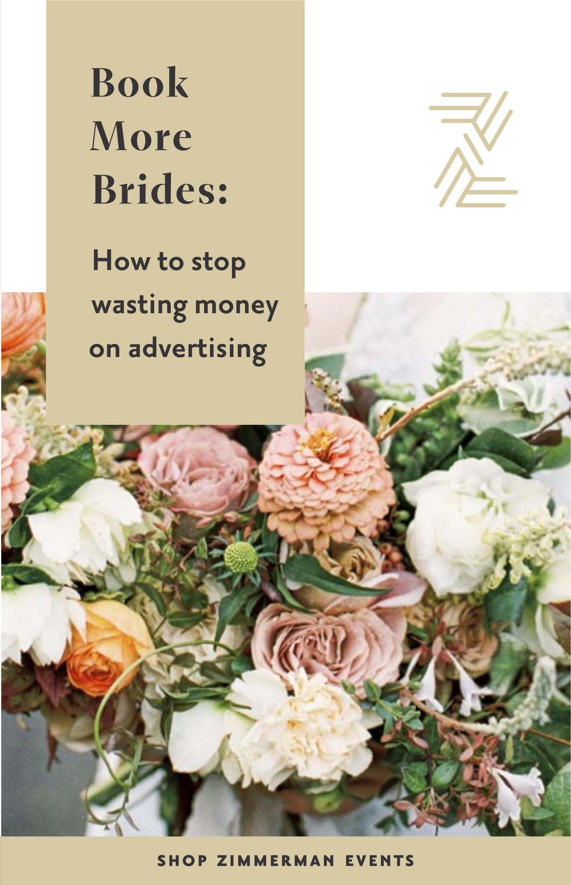 Video Tutorial How To Stop Wasting Money On Advertising Arkansas Wedding Planner Florist Education Zimmerman Wedding Business Ideas Wedding Business Floral Design Business
