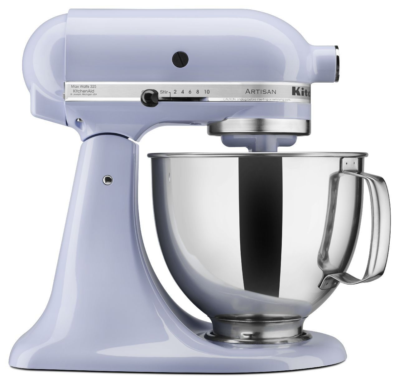 KitchenAid 5Qt Artisan Mixer - Lavender Cream | Electric ...