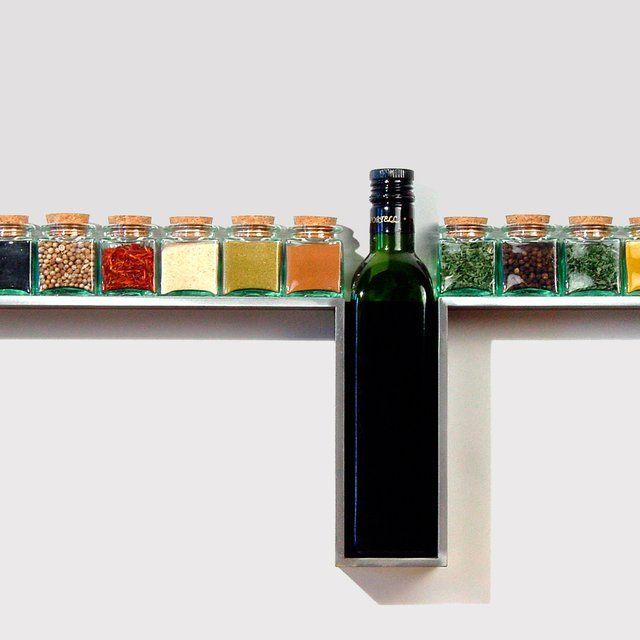 One Line Spice Rack - gewürzregale für küchenschränke
