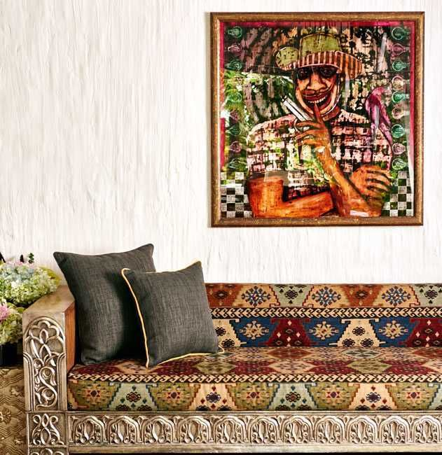 Celebrity homes twinkle khanna and akshay kumar   artful mumbai abode vogue india indian also the best sindhuri images on pinterest in indoor courtyard rh