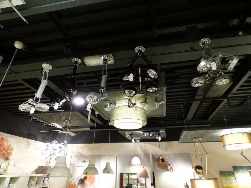Iluminaci n showroom tienda interior modernos l mparas interior foco de techo lampara - Focos iluminacion interior ...
