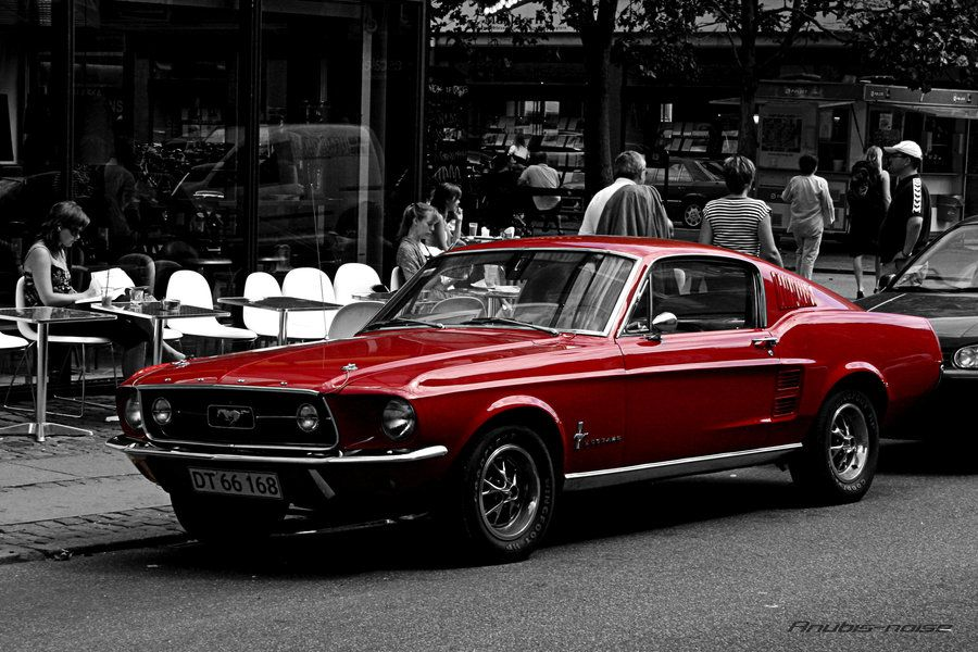 Mustang By Anubis Noise On Deviantart Ford Classic Cars Dream