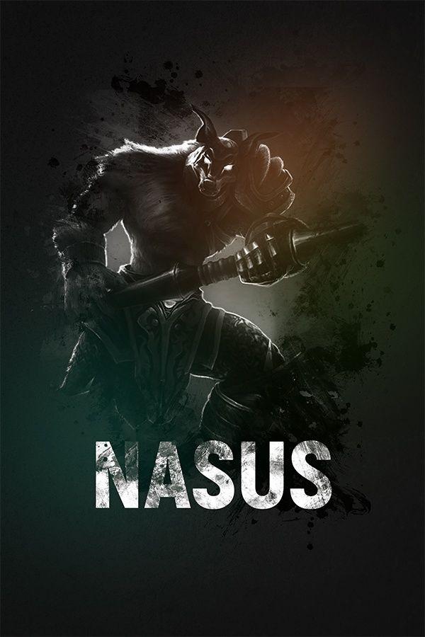 League Of Legends Nasus In 2019 League Of Legends Custom Artworks