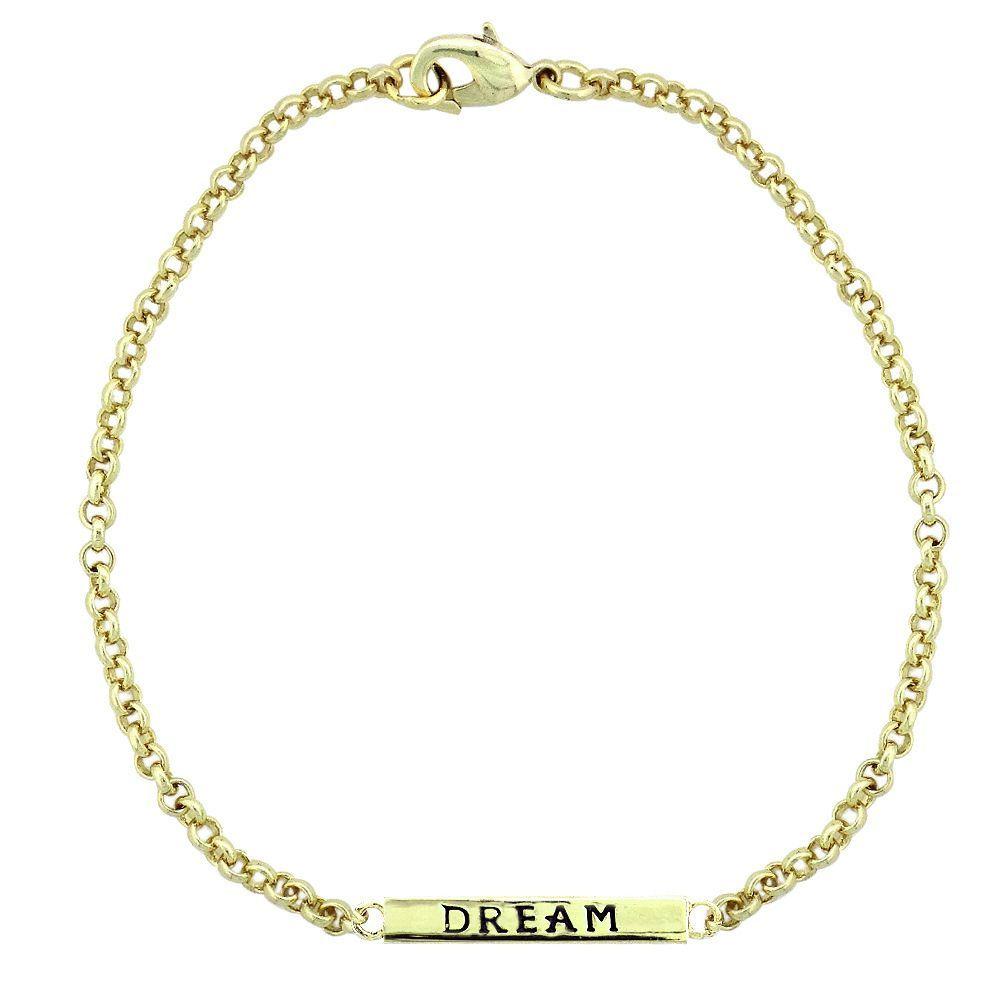 Mondevio 'Dream' Bar Rolo Bracelet (