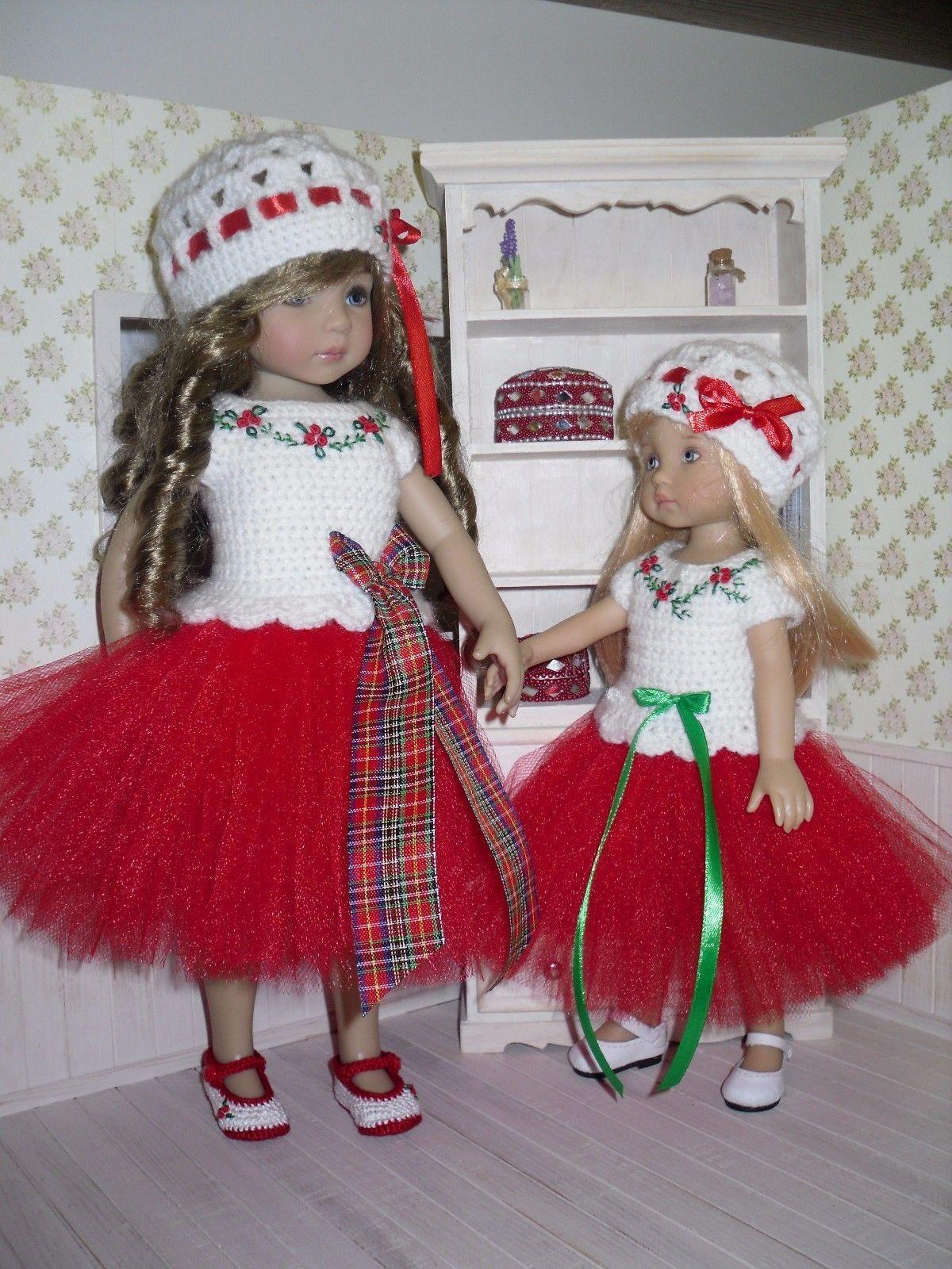 Set for Dianna Effner Little Darling Boneka 10 inches doll - blouse, skirt, hat. | eBay!