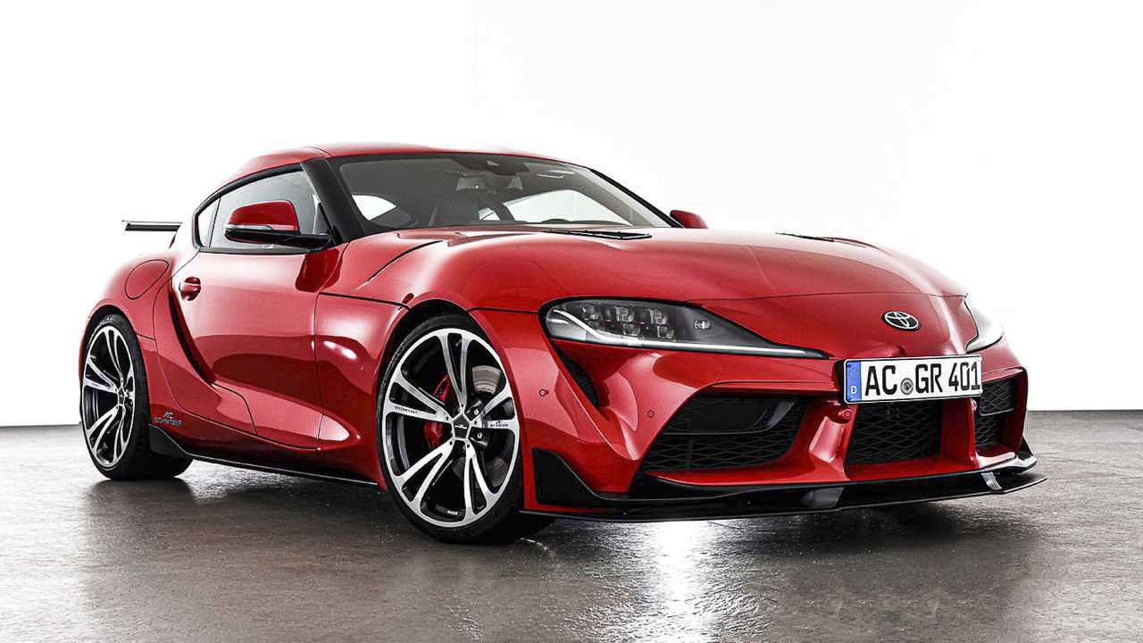 2020 Toyota Supra By Ac Schnitzer With Images Toyota Supra New Toyota Supra Japanese Sports Cars