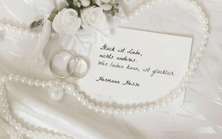 Hochzeitswünsche Für Karte Kurz.Hochzeitswünsche Kurz Karte Herman Hesse Nicht Kitschig Brautkleider