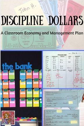 Discipline Dollars Classroom Management System   Token