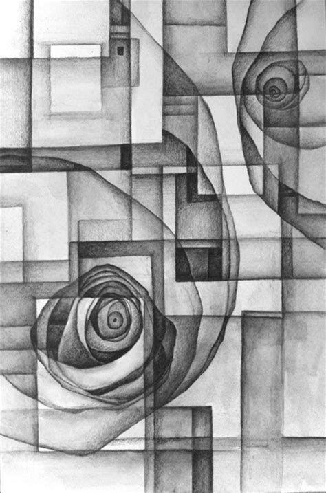 76 Gambar Abstrak Dengan Pensil Terbaik