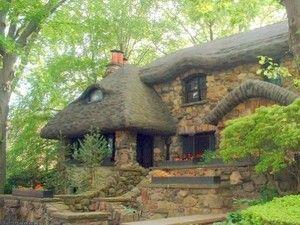 I Want I Want I Want 絵本の家 コテージ 石の家