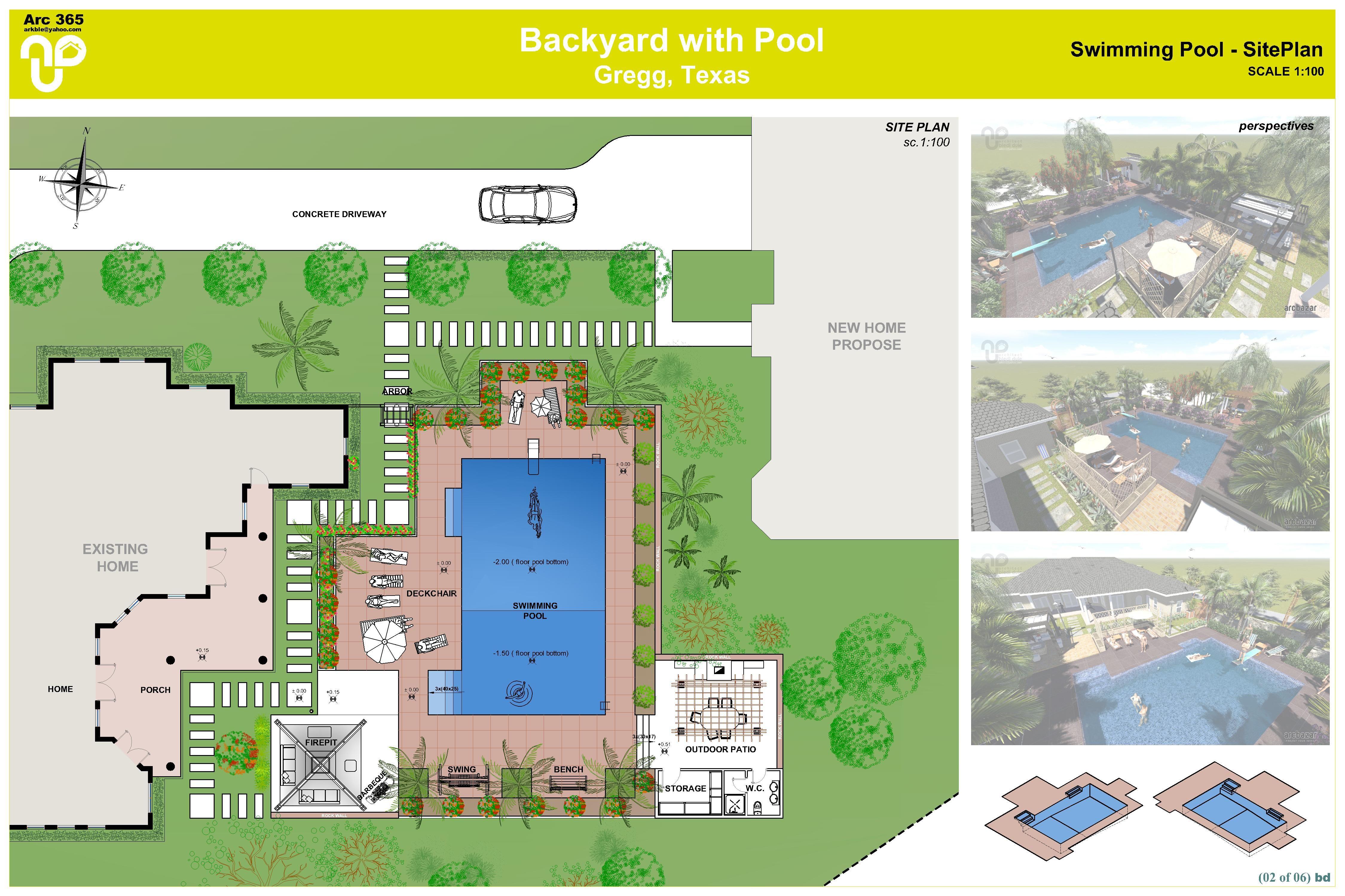 Site Plan Landscape Backyard Google Search Google 400 x 300