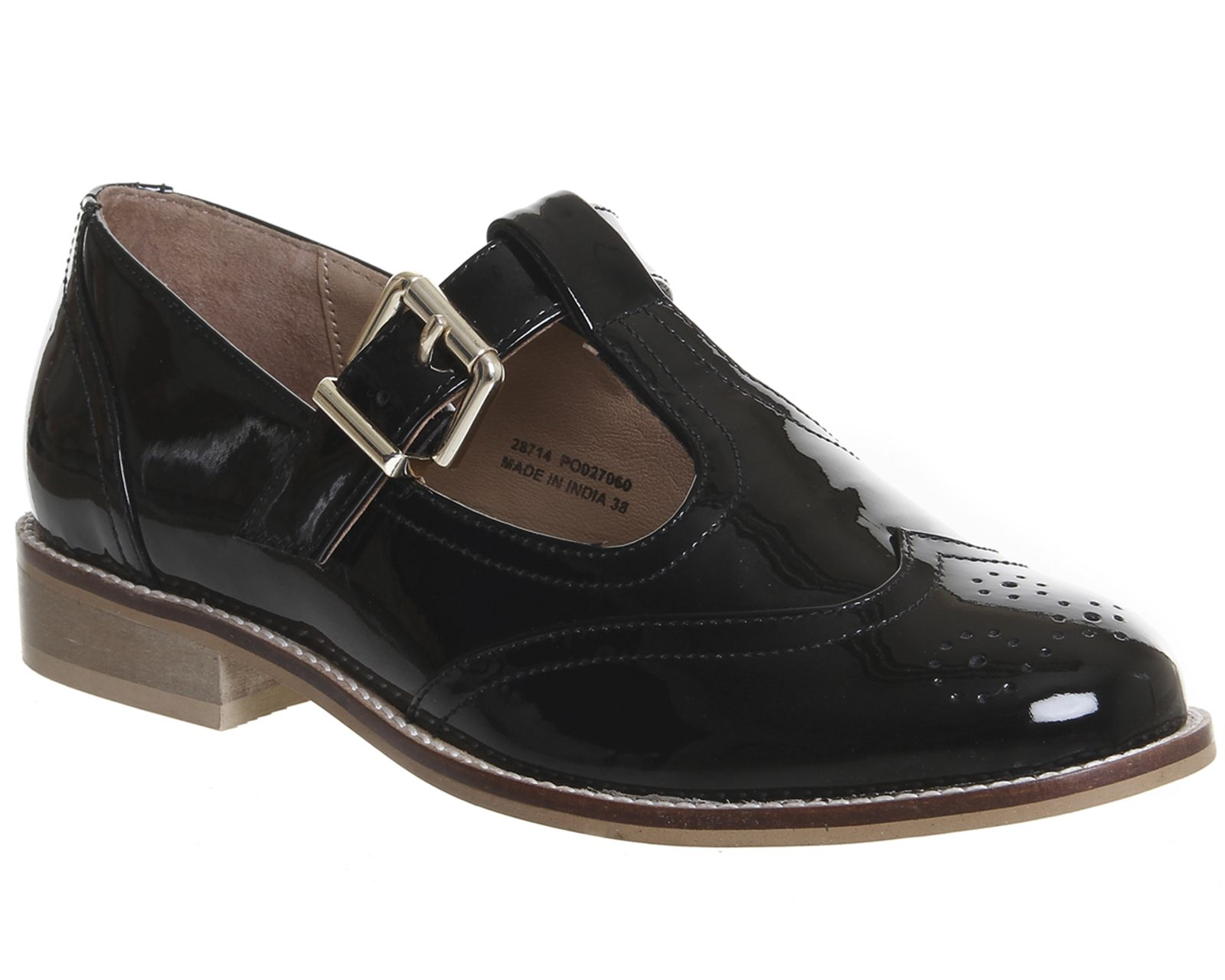 Office Patent Leather Mary Janes