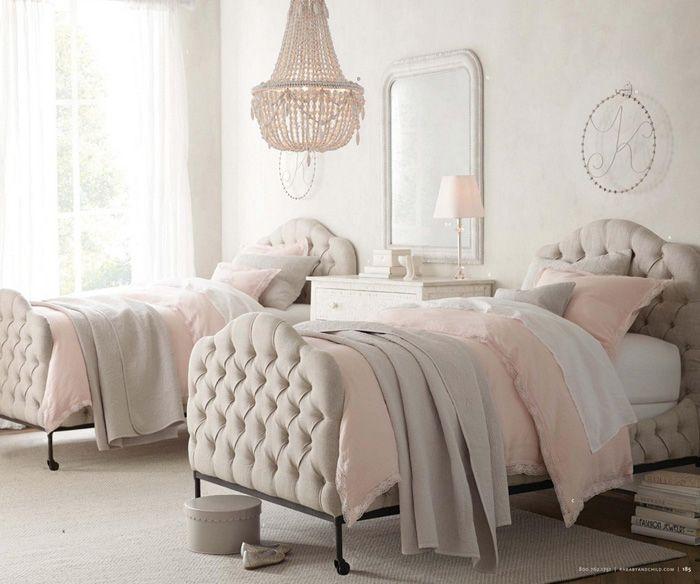 11 dormitorios rom nticos en tonos pastel para chicas d - Decoracion habitaciones juveniles nina ...