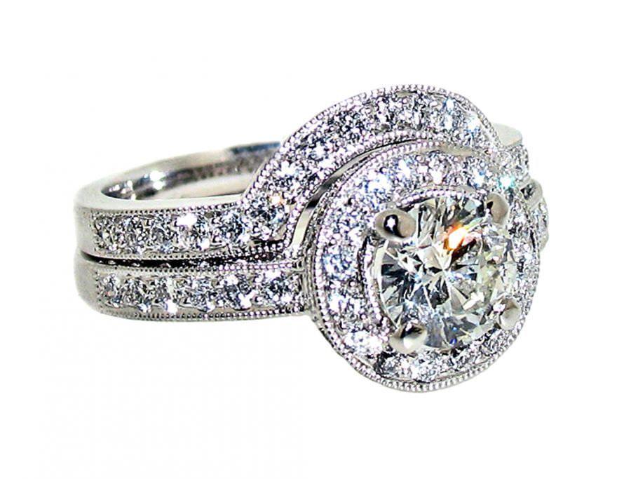 tiffany diamond rings jewellery wedding rings newcastle north east shaped wedding rings - Tiffany Wedding Ring