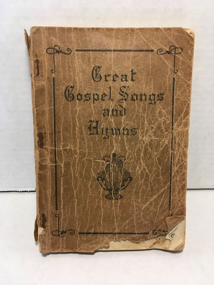 Great Gospel Songs and Hymns 1942 James D Vaughn Shaped