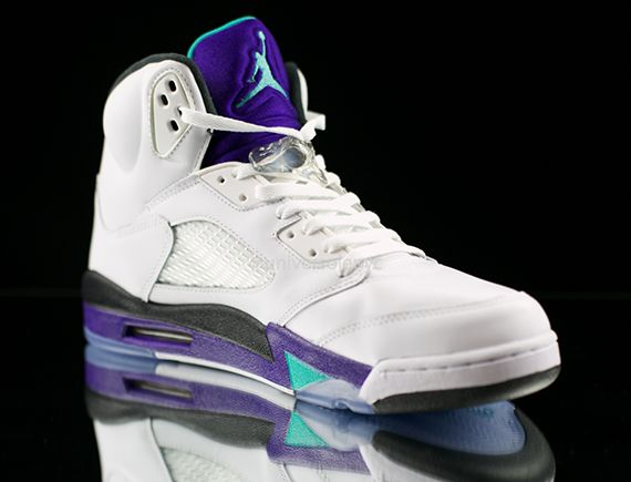 jordan retro 5 grape