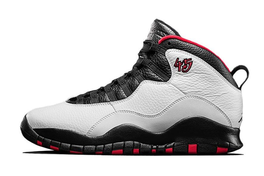 Black · Nike Air Jordan Retro 10 X Double Nickel White Varsity Red Black  310805-102 100