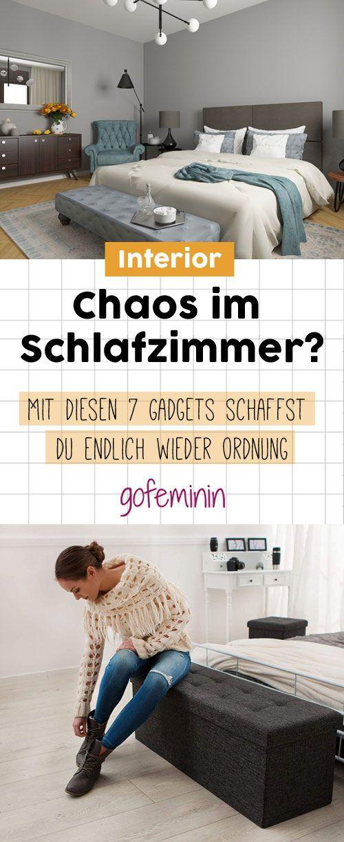 Chaos Im Schlafzimmer: Mit Diesen 7 Praktischen Helfern Schaffst Du Endlich  Ordnung!