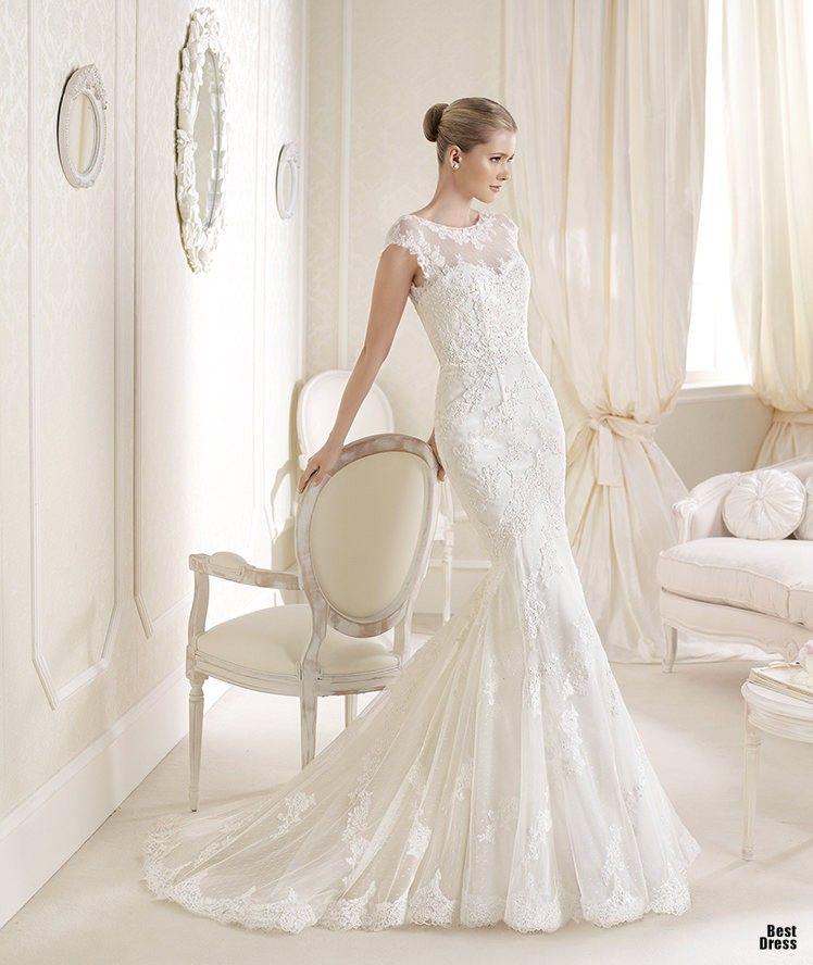 Wedding Dress Vintage Wedding Dresses mermaid lace wedding dresses ...
