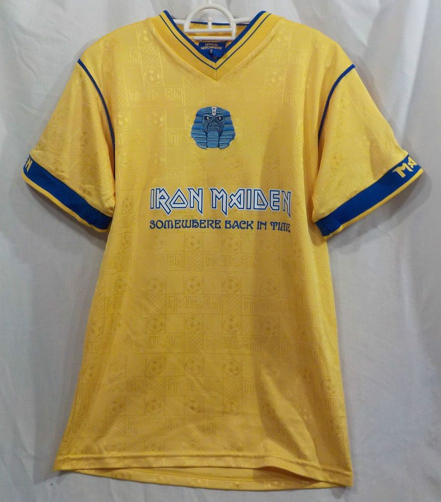 8180967c7 Iron Maiden Soccer Jersey from the 2008 Somewhere Back in Time Tour ...