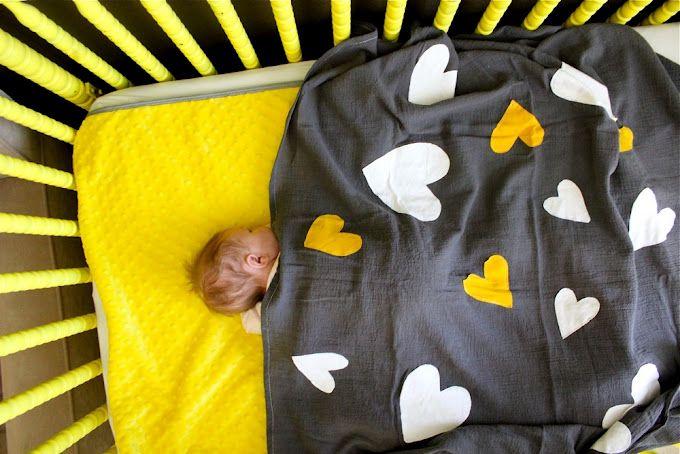 DIY muslin blanket