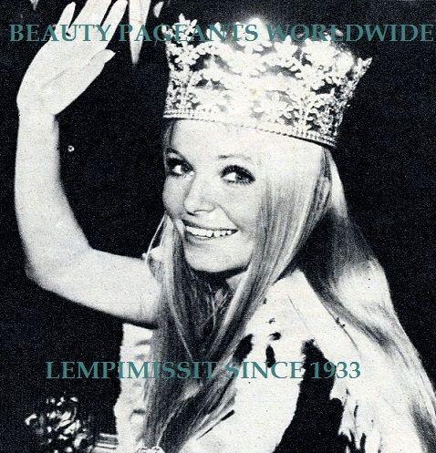 MISS WORLD 1969, EVA RUEBER-STAIER