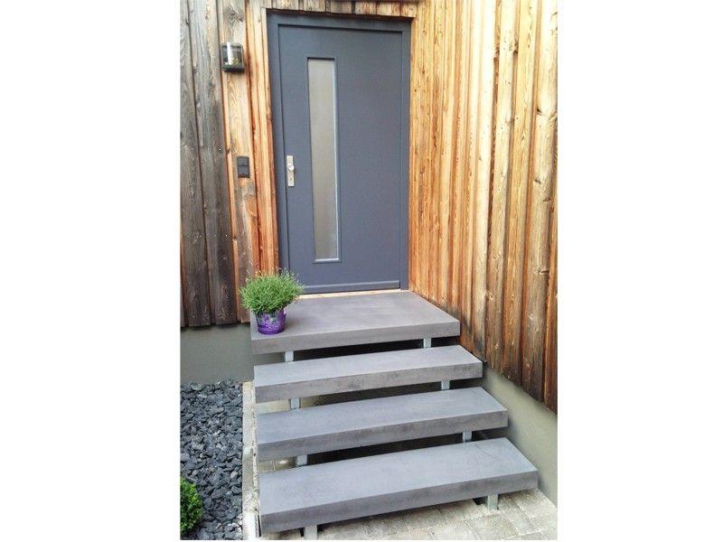 betont betonpodest aulico concrete betonstufen beton outdoor eingangsbereich. Black Bedroom Furniture Sets. Home Design Ideas
