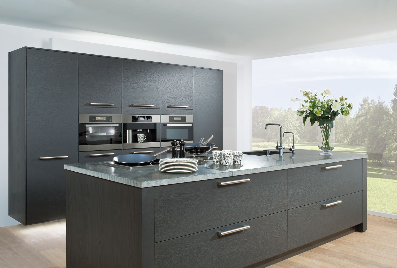 Best Alluring Grey Kitchen Design Inspirations Amazing Grey 640 x 480