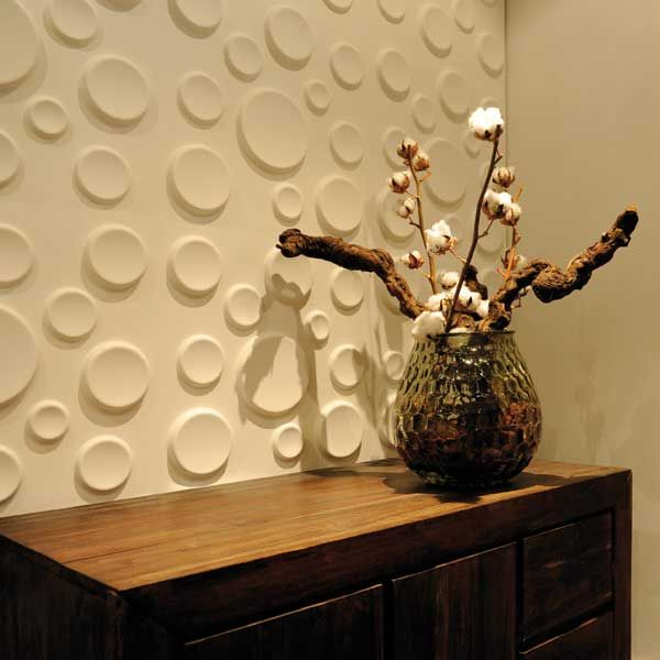 Eco-Friendly WallArt 3D Decorative Wall Panels (made from residues ...